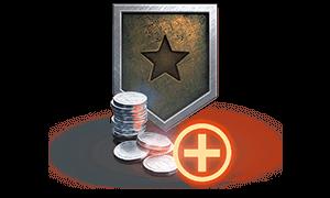 More credits per battle