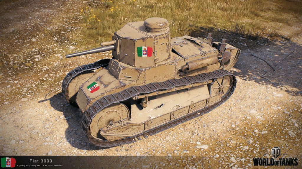 HD рендеры Итальянских танков 1— 8 уровня