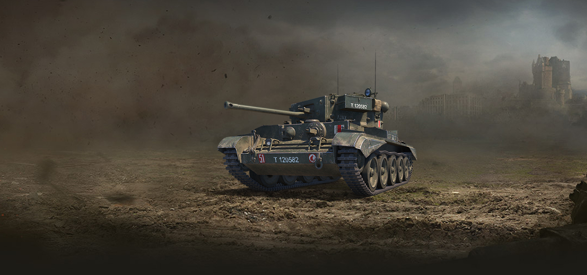 WoT EU - British Speedster: the Cromwell B - The Armored