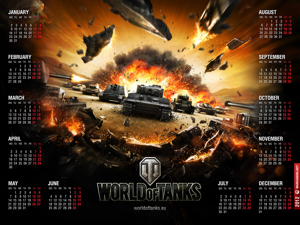 World of Tanks calendrier 1