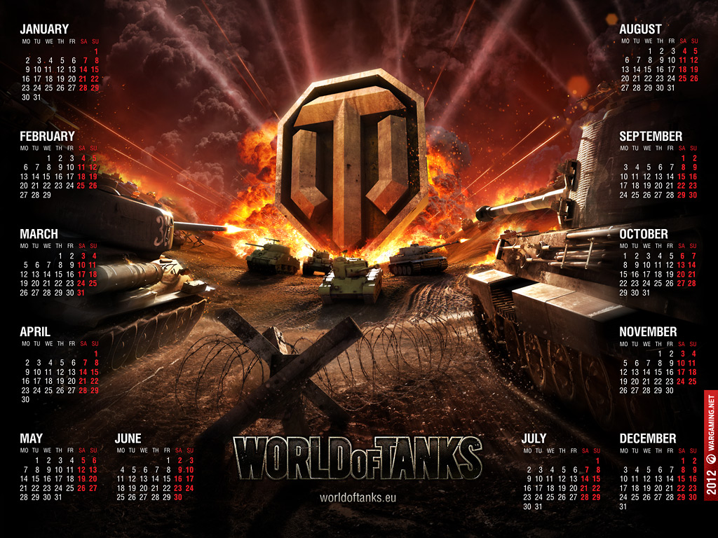 World of Tanks calendrier 2