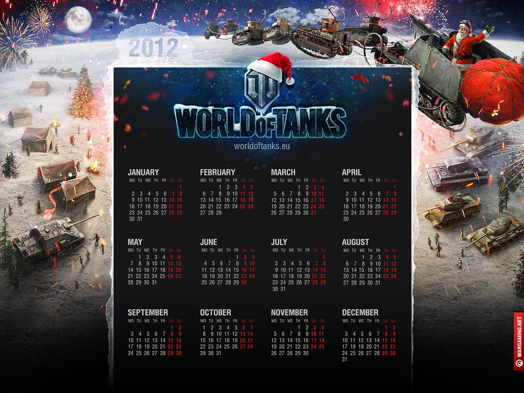 World of Tanks Calendario 3