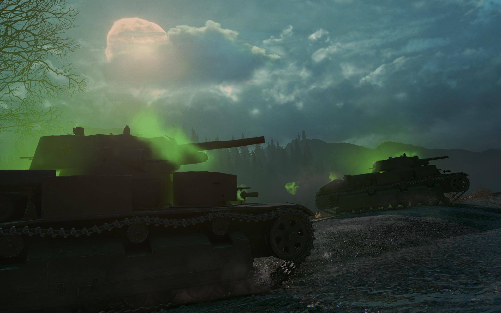 Enter the Dark Front this Halloween! | General News | World of Tanks