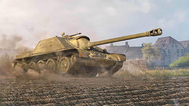 SU-122-44: One Hell of a Soviet Tank Destroyer!