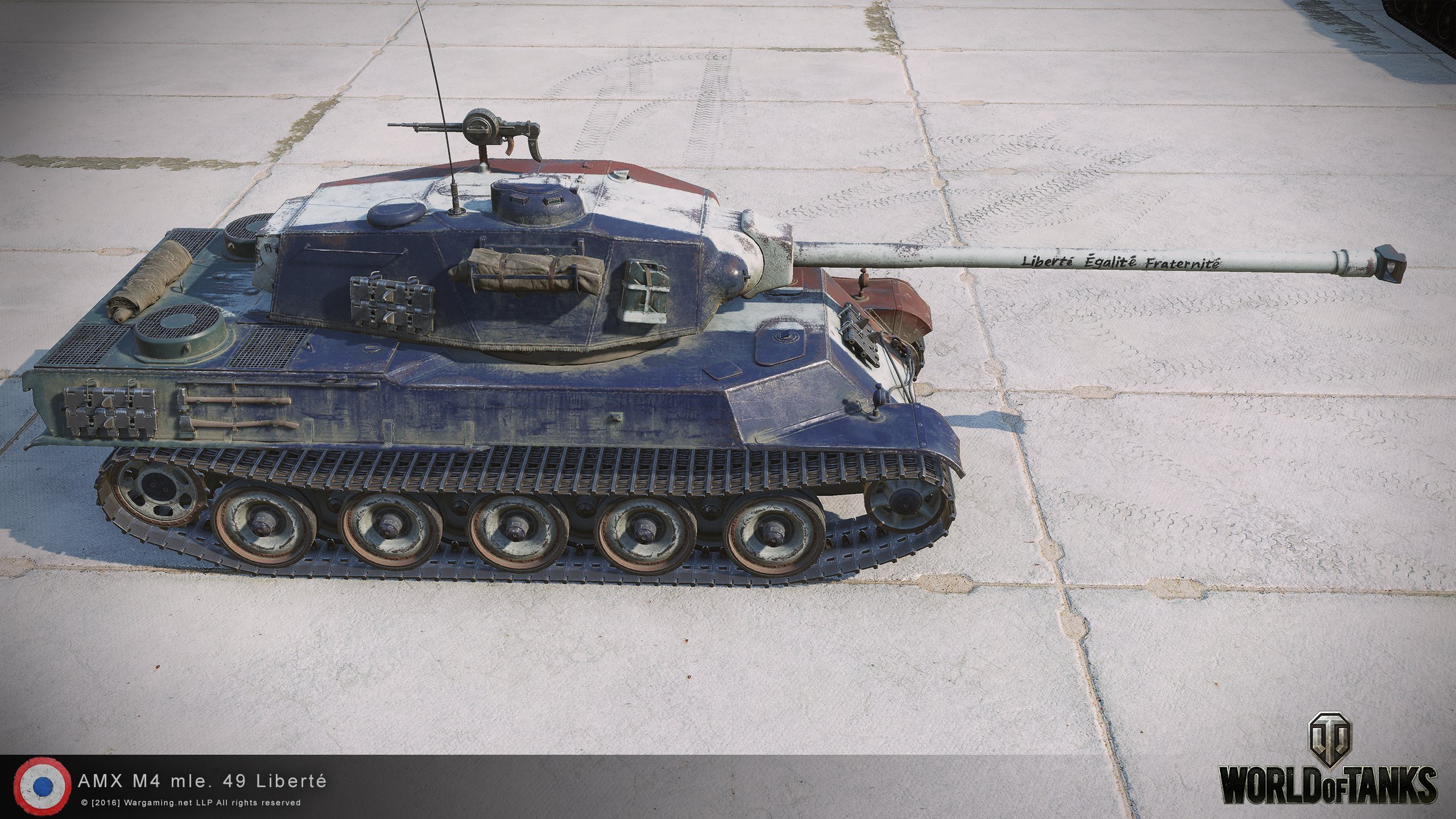 Not Your Typical French Heavy: AMX M4 Mle  49 Liberté