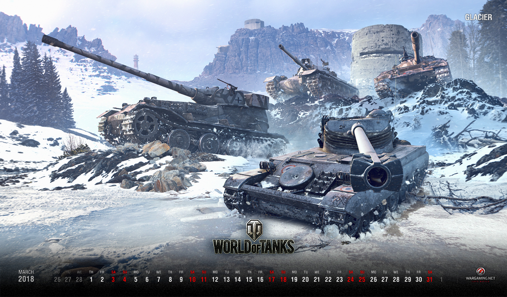 Wallpaper For March 2018 General News World Of Tanks