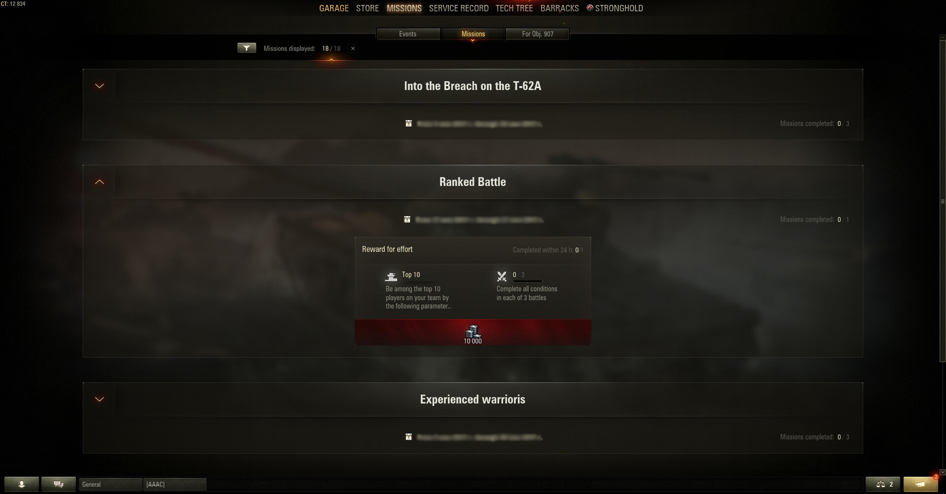 Update 919 interface improvements general news world of tanks this lists battle missions you can complete once or multiple times grouped into sets according to the campaign or sequence of missions they belong to malvernweather Images