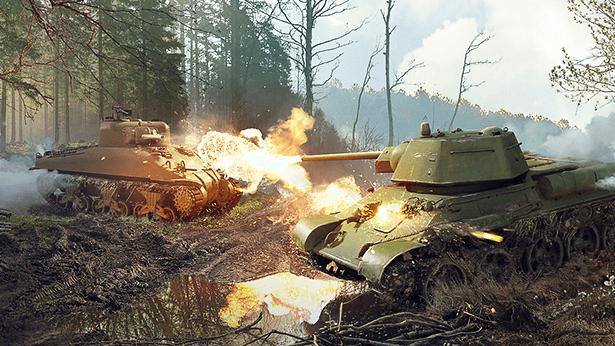 Panzerkrieg: Wie ihr den T-34 und M4A1Sherman spielt