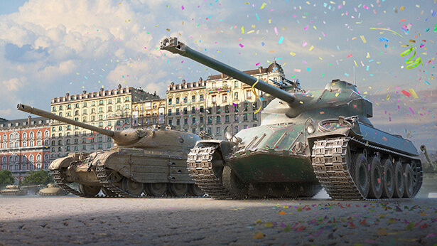 A Day of Premium & Double XP with the Military Parade