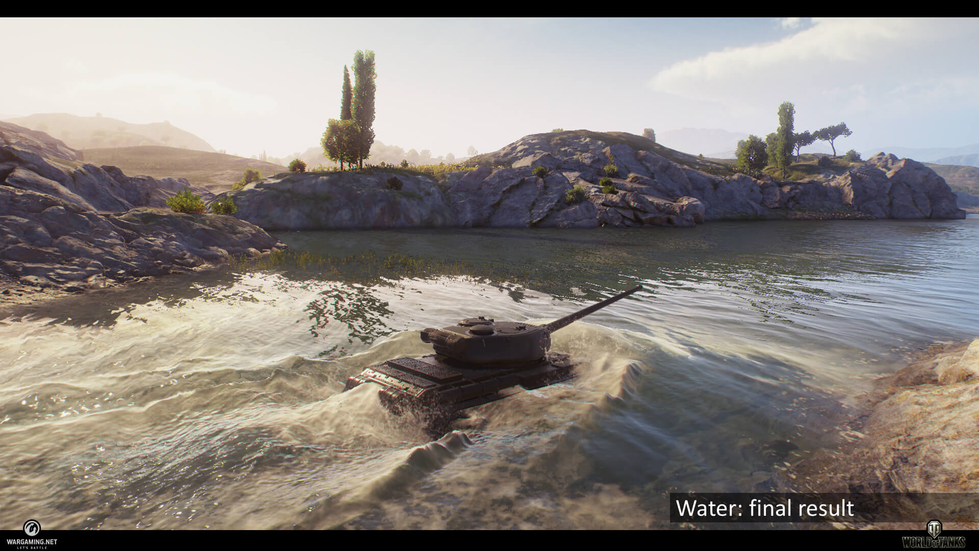 World of Tanks 1.0 Wasser Darstellung - worldof tanks.eu