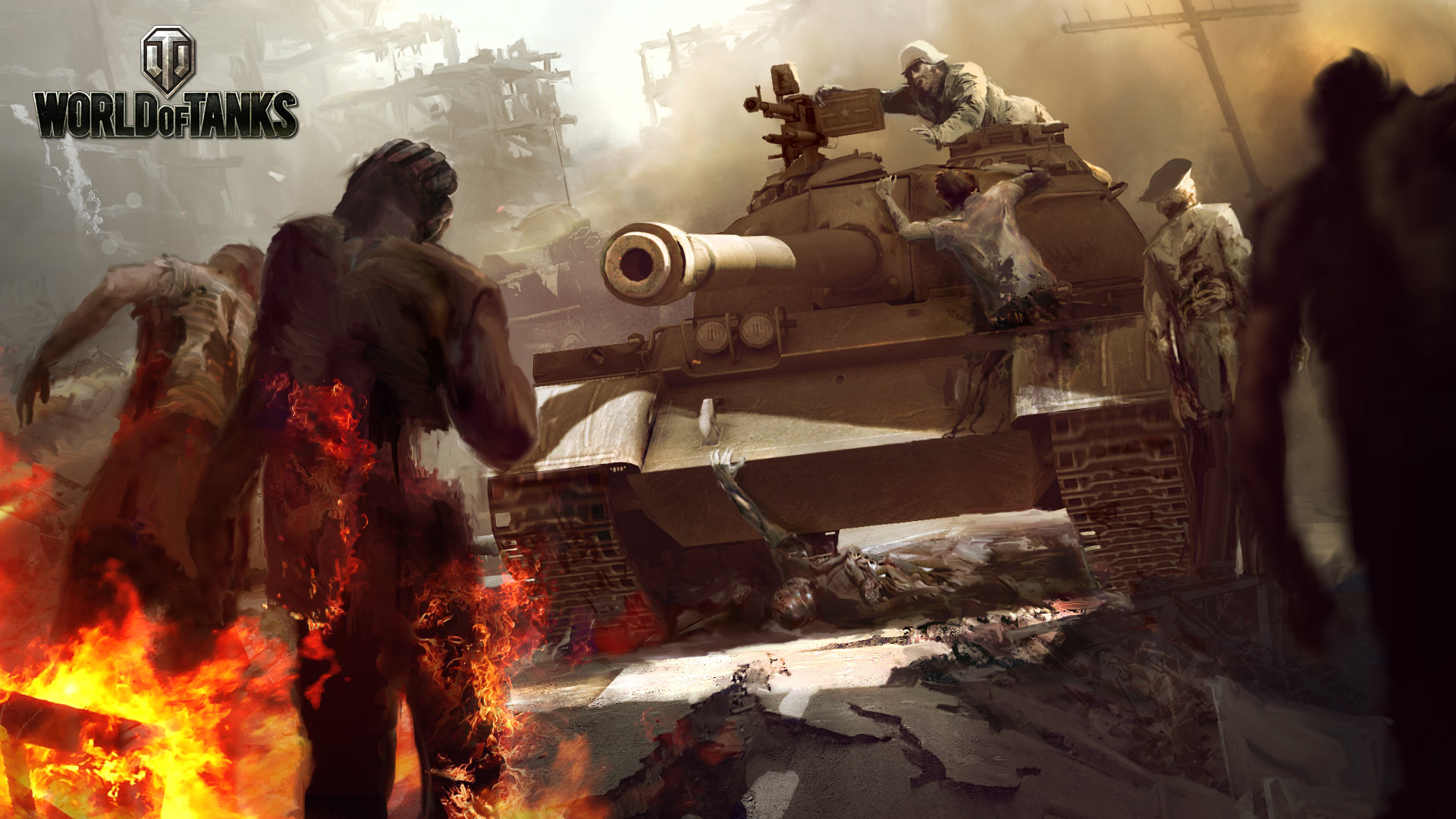 Zombie zaplaví World of Tanks 1