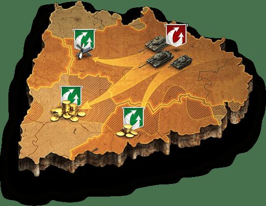 Clan Wars Clan Battles World Of Tanks Global Map Descriptions