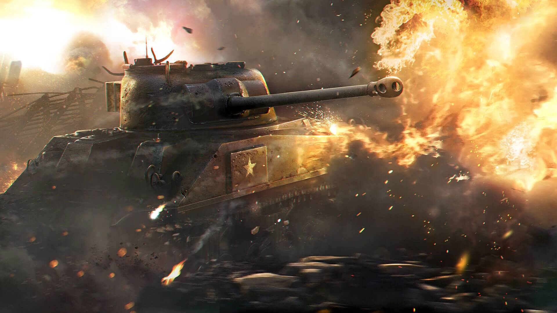 Download the World of Tanks game on the official website